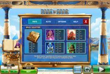 book of gods slot screenshot 2