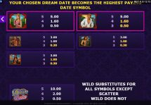 dream date slot screenshot 4